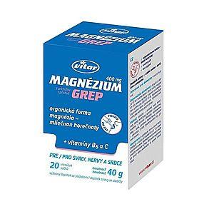 Vitar Magnézium Grep 400 mg + vitamin B6 + vitamin C 20 sáčků obraz