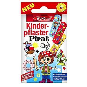 WUNDmed BOYS Piráti dětská náplast 10 ks obraz