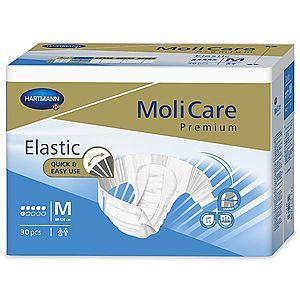 MoliCare Elastic 6 kapek vel. M inkontinenční kalhotky 30 ks obraz