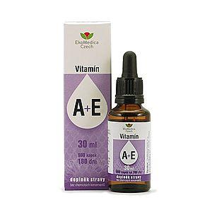 Ekomedica Vitamín A + E kapky 30 ml obraz