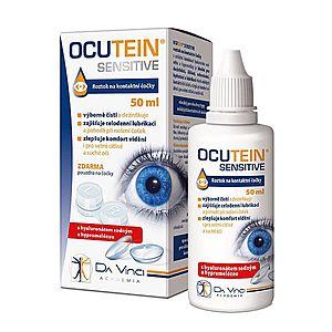 Ocutein SENSITIVE roztok na kontaktní čočky 50 ml obraz