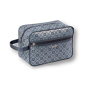 Top Choice TopChoice Kosmetická taška Geometric - ŠEDÁ 93722 obraz