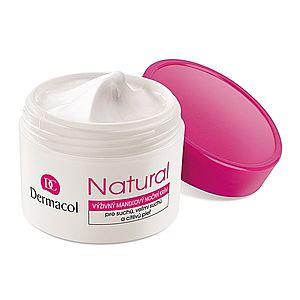 Dermacol Natural výživný mandlový noční krém 50 ml obraz