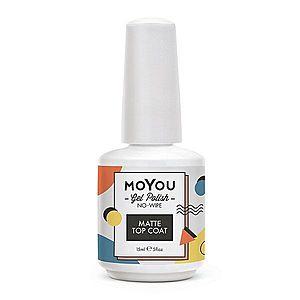 MoYou Premium Gel lak - Matte Top Coat 15ml obraz