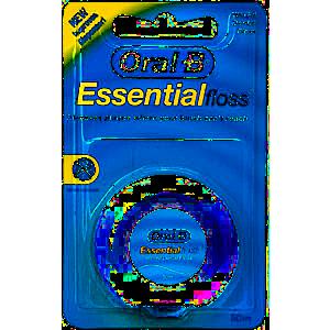 Oral-B Essential Floss voskovaná zubní nit, 50 m obraz