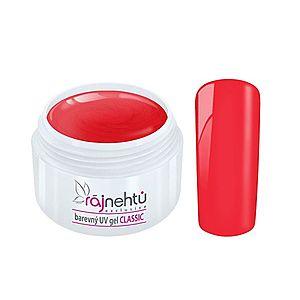 Ráj nehtů Barevný UV gel CLASSIC - Old Red 5ml obraz