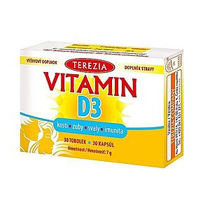 Terezia Vitamin D3 30 tobolek obraz