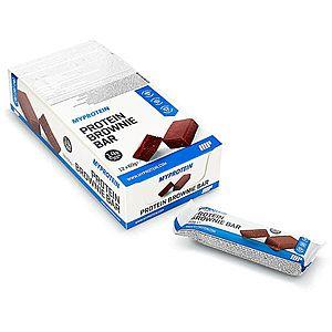 Protein Brownie tyčinky - Čokoláda obraz