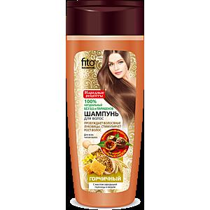 Hořčičný šampon pro všechny typy vlasů - Fitokosmetik - 270 ml obraz