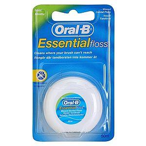 Oral B Essential Floss voskovaná dentální nit s mátovou příchutí 50 m obraz