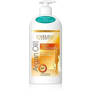 Eveline Cosmetics Argan Oil hydratační a zpevňující tělové mléko 350 ml obraz
