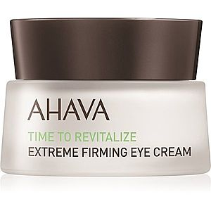 Ahava Time To Revitalize zpevňující oční krém proti vráskám 15 ml obraz