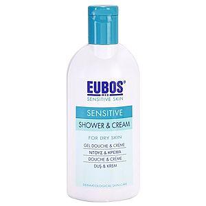 Eubos Sensitive sprchový krém s termální vodou 200 ml obraz