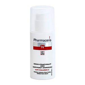 Pharmaceris N-Neocapillaries Capi-Hyaluron-C protivráskový krém obnovující hutnost pleti pro citlivou pleť se sklonem ke zčervenání SPF 20 50 ml obraz