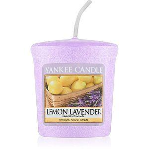 Yankee Candle Lemon Lavender votivní svíčka 49 g obraz