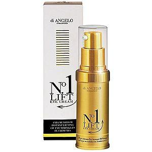 Di Angelo Cosmetics No1 Lift oční krém pro okamžité vyhlazení vrásek 15 ml obraz