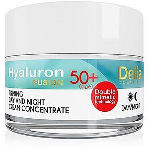 Delia Cosmetics Hyaluron Fusion 50+ zpevňující protivráskový krém 50 ml obraz