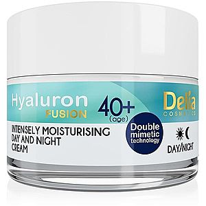 Delia Cosmetics Hyaluron Fusion 40+ intenzivní hydratační krém proti vráskám 50 ml obraz