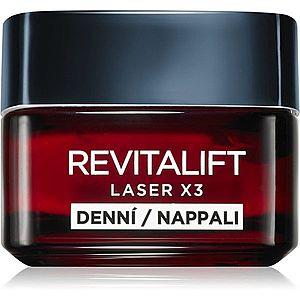 L'Oréal Paris Revitalift Laser X3 denní krém na obličej s intenzivní výživou 50 ml obraz