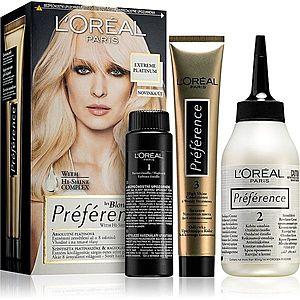 L'Oréal Paris Préférence barva na vlasy odstín Extreme Platinum obraz