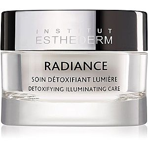 Institut Esthederm Radiance Detoxifying Illuminating Care krém proti prvním známkám stárnutí pro rozjasnění a vyhlazení pleti 50 ml obraz