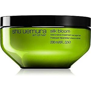 Shu Uemura Silk Bloom regenerační a obnovující maska pro poškozené vlasy 200 ml obraz