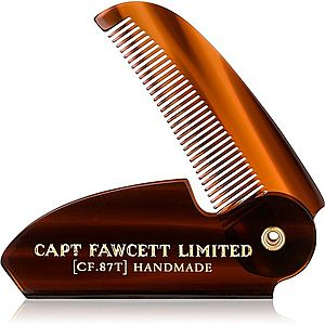 Captain Fawcett Accessories skládací hřeben na knír obraz
