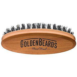 Golden Beards Accessories cestovní kartáč na vousy obraz