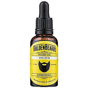 Golden Beards Big Sur olej na vousy 30 ml obraz