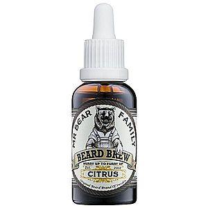 Mr Bear Family Citrus olej na vousy 30 ml obraz