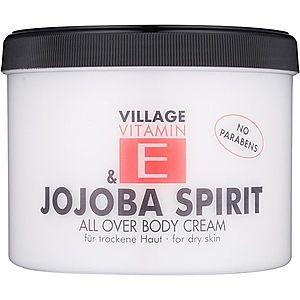 Village Vitamin E Jojoba Spirit tělový krém bez parabenů 500 ml obraz
