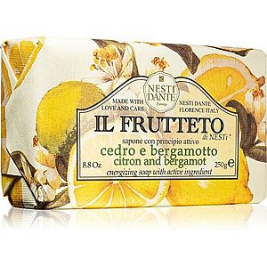 Nesti Dante Il Frutteto Citron and Bergamot přírodní mýdlo 250 g obraz