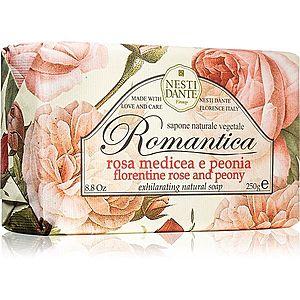 Nesti Dante Romantica Florentine Rose and Peony přírodní mýdlo 250 g obraz