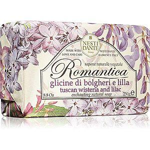 Nesti Dante Romantica Tuscan Wisteria & Lilac přírodní mýdlo 250 g obraz