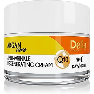 Delia Cosmetics Argan Care regenerační protivráskový krém s koenzymem Q10 50 ml obraz