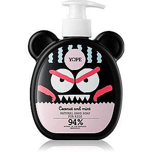 Yope Coconut & Mint tekuté mýdlo na ruce pro děti 400 ml obraz