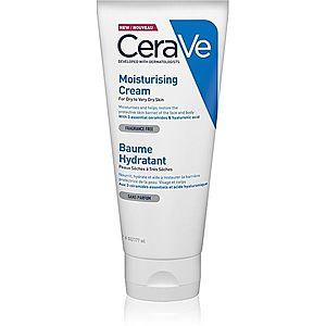 CeraVe Moisturizers hydratační krém na obličej a tělo pro suchou až velmi suchou pokožku 177 ml obraz