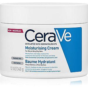CeraVe Moisturizers hydratační krém na obličej a tělo pro suchou až velmi suchou pokožku 340 g obraz