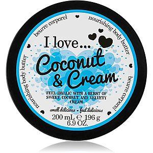 I love... Coconut & Cream tělové máslo 200 ml obraz