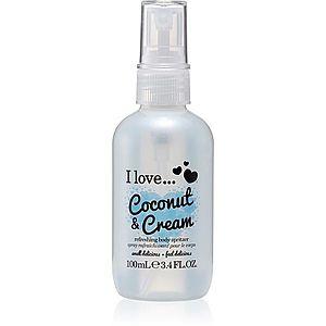 I love... Coconut & Cream osvěžující tělový sprej 100 ml obraz