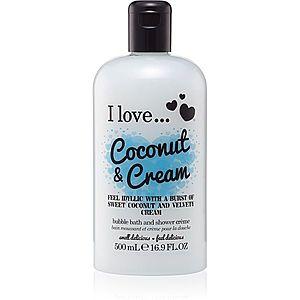 I love... Coconut & Cream sprchový a koupelový gelový olej 500 ml obraz