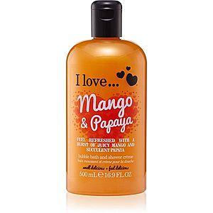 I love... Mango & Papaya sprchový a koupelový krém 500 ml obraz