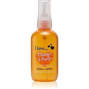 I love... Mango & Papaya osvěžující tělový sprej 100 ml obraz