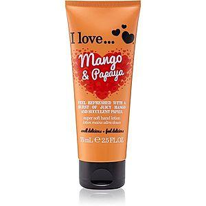 I love... Mango & Papaya krém na ruce 75 ml obraz