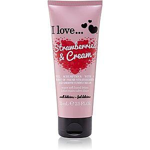 I love... Strawberries & Cream krém na ruce 75 ml obraz