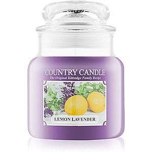 Country Candle Lemon Lavender vonná svíčka 453 g obraz