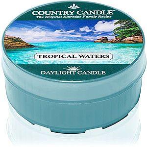Country Candle Tropical Waters čajová svíčka 42 g obraz