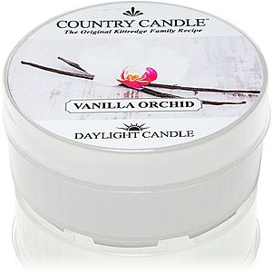 Country Candle Vanilla Orchid čajová svíčka 42 g obraz