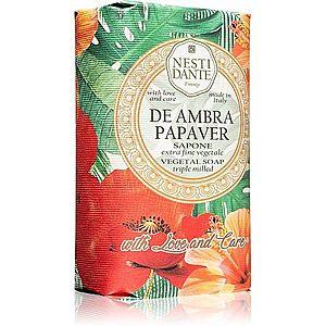 Nesti Dante De Ambra Papaver extra jemné přírodní mýdlo 250 g obraz