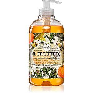 Nesti Dante Il Frutteto Olive and Tangerine tekuté mýdlo na ruce 500 ml obraz